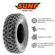 "21x7x10"" / 21.00x7x10 SUNF A-017 TYRE 6 PLY ATV QUAD E-MARKED - PRE ORDER ONLY**"